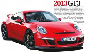 porsche 911 GT3 2013 red