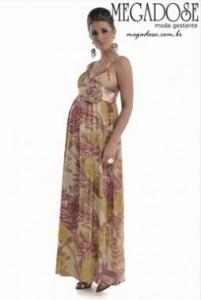 vestido para gravida
