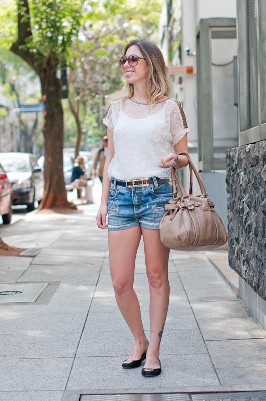 Como Montar Um Look Lindo com Shorts Jeans