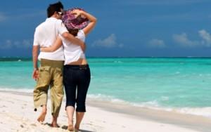 pedido de casamentoCasal-na-praia