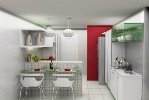 Como Decorar Cozinha Pequena – Dicas, Informações (2)