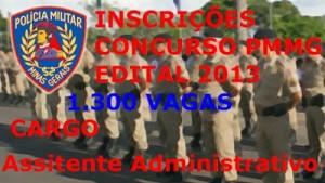 Concurso 2013 Polícia Militar – MG