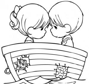 Desenhos Para Colorir do Dia dos Namorados (2)