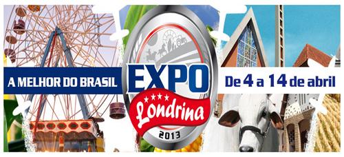 Expolondrina 2013 – Data, Atrações, Programação e Ingressos