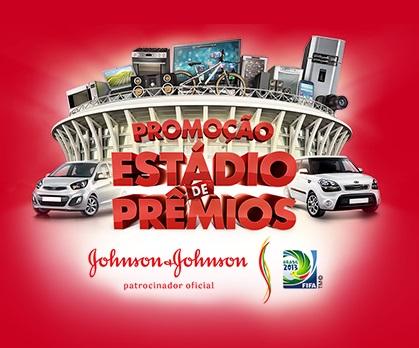 Promoção Johnson e Johnson Estádio de Prêmios 2013 – Como Participar