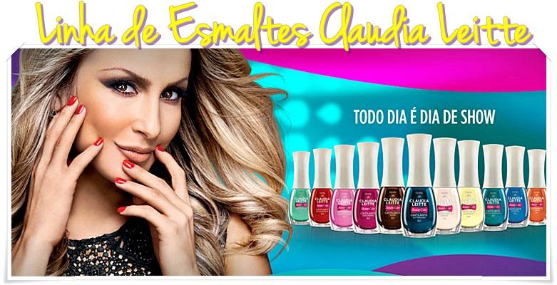 Nova Coleção de Esmaltes Claudia Leite Beauty Color 2013 – Cores, Onde Comprar e Preço
