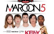Maroon 5 nos Estados Unidos 2013 Com kelly Clarkson – Ver Informações