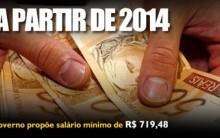 Salário Mínimo Para 2014 – Ver Informações e Reajustes