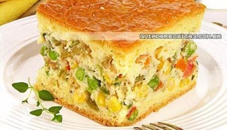 Torta de Legumes – Receita, Ingredientes e Modo de Preparo