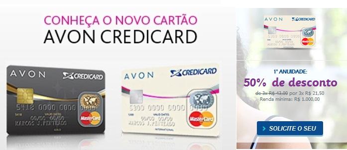 Cartão Avon Credicard