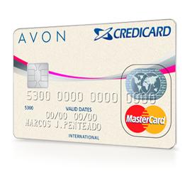 Cartão Credicard Avon