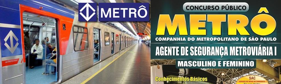Concurso Metro Sao Paulo 2013