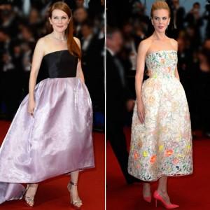 Julianne-Moore-Nicole-Kidman-vestido-midi-cannes-2013