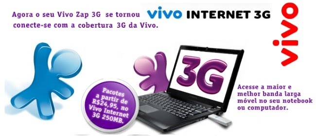 Vivo 3 G internet movel 2