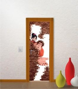 adesivos para portas