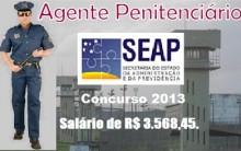 Concurso Agente Penitenciário SP 2013 – 2014 – Inscrições