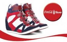 Nova Coleçao Calçados Sneakers Coca Cola Inverno 2013 – Fotos, Modelos e Loja Virtual