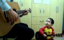 Novo sucesso do Youtube Diogo  de 1 ano e 11 Meses Cantando  All My Loving do Beatles – Vídeo