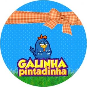 Moldura Galinha Pintadinha11