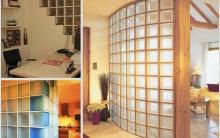 Decoração Moderna para Casa com Tijolos de Vidro – Fotos e Dicas