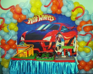 decoracao hot wheels