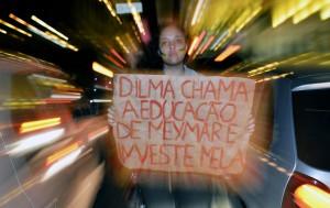 BRAZIL PROTESTo