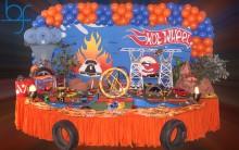 Decoração de Festa de Aniversário Infantil Tema Hot Whells – Fotos Modelos Dicas de Buffet