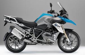 moto azul bmw rs 1200 g