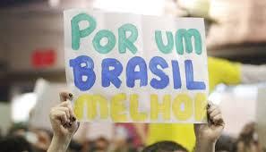 por um brasil melhor cartaz