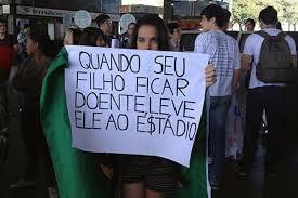 povo reivindicando brasil