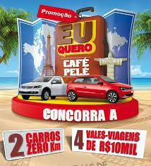 Promoção Eu Quero Café Pelé 2013 – Como se Inscrever e Participar