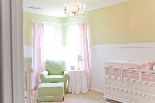 quarto-bebe-verde-rosa-inspirador