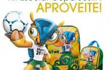 Sestini Linha Escolar Copa das Confederações 2013 – Modelos e Loja Virtual