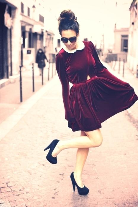 vestido-de-veludo-vinho