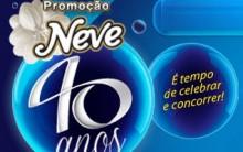 Promoção Neve 40 Anos 2013 – Como Participar e Quais os Prêmios