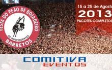 Festa de Peão de Boiadeiros em Barretos 2013 – Programação e Comprar Ingressos Online