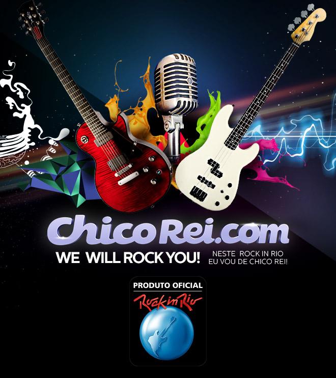 Coleçao Camisetas Rock In Rio 2013 na Chico Rei – Comprar Online