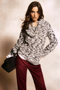 blusa mescla de trico