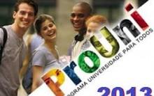 Primeira Chamada do Prouni 2º Semestre 2013 – Ver Lista de Aprovados