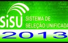 Segunda Chamada do Processo Seletivo  Sisu 2013 – Consultar Lista Online