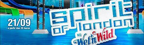 Spirit of  London 2013 no Wet 'n Wild – Comprar Ingressos Online