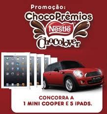 Promoção Choco Prêmios Nestlé 2013 – Como Participar