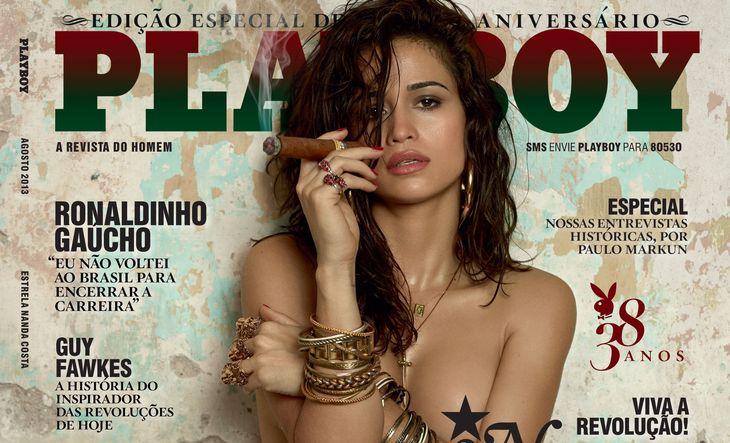 Ver Fotos de Nanda Costa Revista Playboy de Agosto 2013 – Vídeos