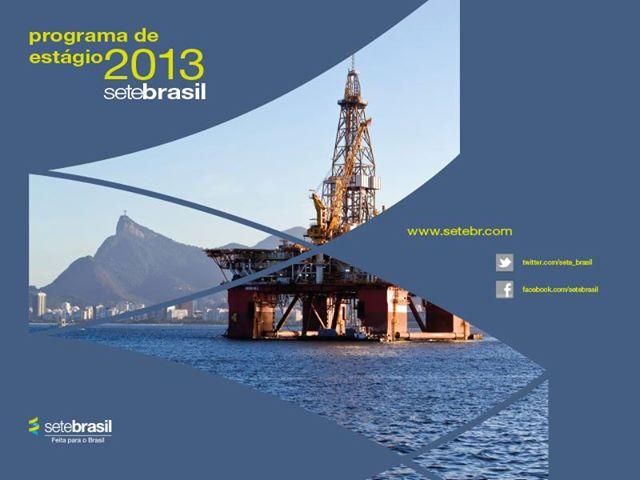 Programa de Estágio Sete Brasil 2013 – Fazer as Inscrições