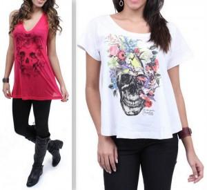 Camisetas-Caveira