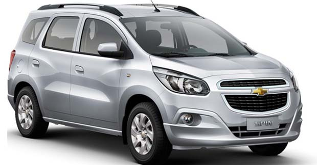 Lançamento Novo Carro Spin da Chevrolet Para 2014 – Ver Fotos, Preço, Características e Vídeos