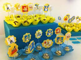 Decoração Festa de Aniversário Infantil Com Tema os Simpsons