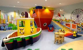 Decoração de Play Room Para as Crianças
