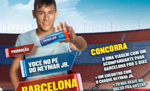 Promoção Tenys Pé Você no Pé do Neymar 2013