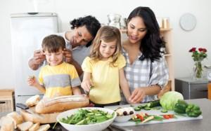 criancas comem os pais